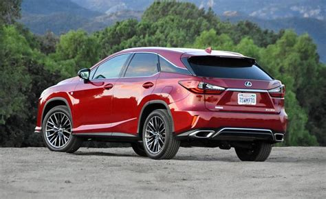 The Spousal Report 2018 Lexus Rx 350 F Sport Review Ny