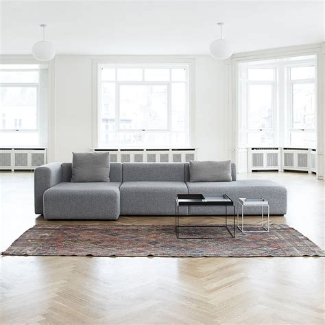hay chaise mags sofa modules wide by hay