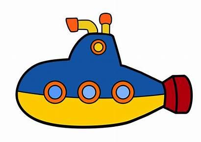 Submarine Clipart Toy Transparent Cartoon Transportation Sub