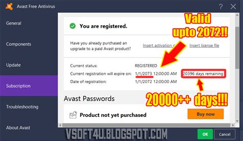 Download Free Activation Code (license Key) For Avast Pro