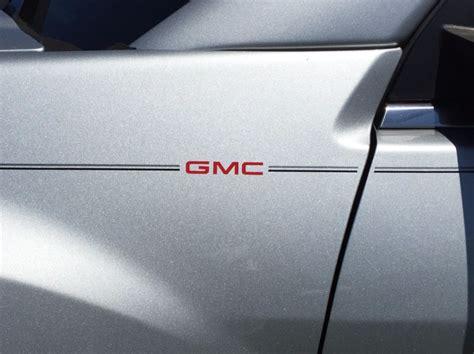 violassi striping company gmc acadia logo emblem decal