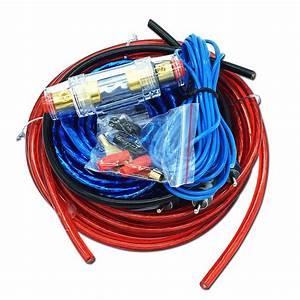 Car Audio Wire Wiring Amplifier Subwoofer Speaker