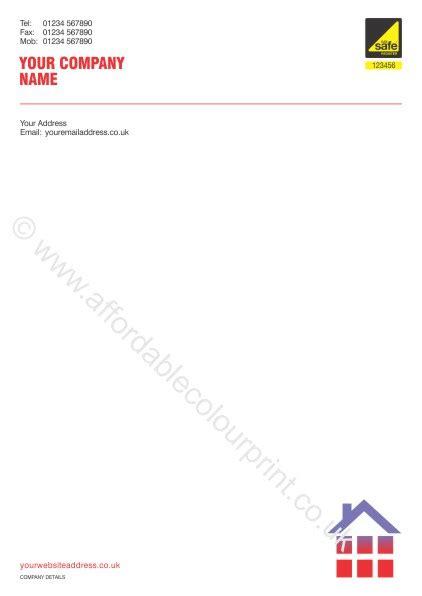letterhead  gas safe registered plumbers  heating