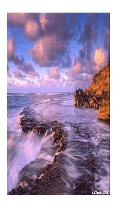 Nature Scenery Waterfall Gifs Landscape Wordpress Dumnezeu