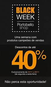 Black Shopping Week : ngd n cleo goiano de decora o black week portobello shop ~ Orissabook.com Haus und Dekorationen