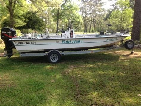Predator Bay Boats For Sale by 2000 Predator Bay Boat For Sale In New Orleans Louisiana