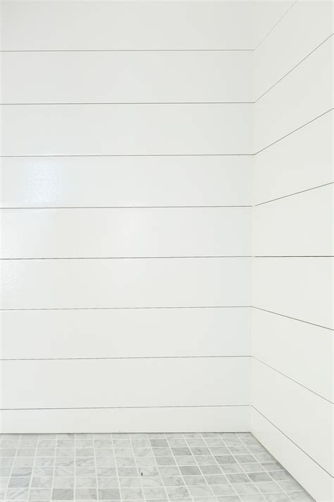 White Shiplap Siding by How To Install Shiplap In A Shower And Be The Coolest