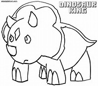 HD Wallpapers Coloring Pages For Dinosaur King