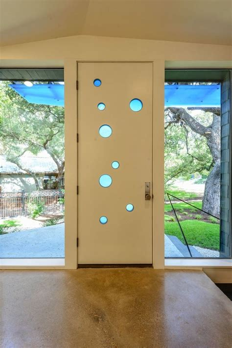 mid century modern interior doors vintage mailbox