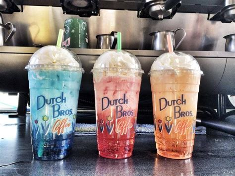 Coffee menu mainly consists of a variety of drinks. dutch bros drinks - Google Search | Dutch bros drinks, Dutch bros, Dutch bros secret menu