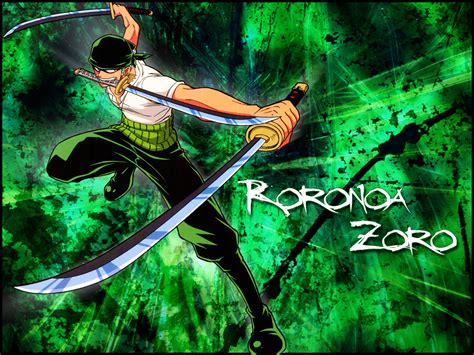 zoro  piece wallpaper  wallpapersafari