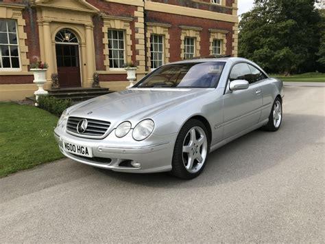 Eliminar dos favoritos guardar um carro. Mercedes CL600 V12   Lytham Classic Cars