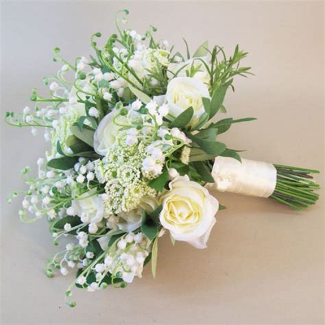 katherine artificial flowers wedding bouquet wedding flowers