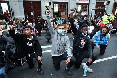 Zealand Lives Matter Protesters Floyd George Protest