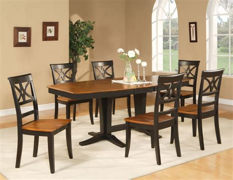 pc dinette dining room set octagonal table   wooden