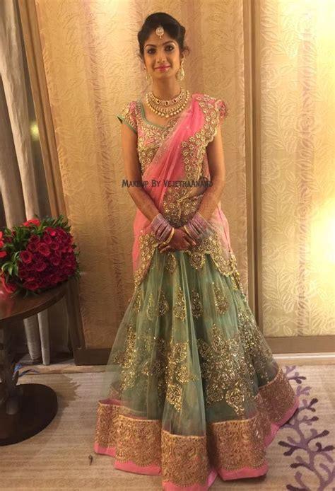 indian bride akshata wears bridal lehenga  jewellery