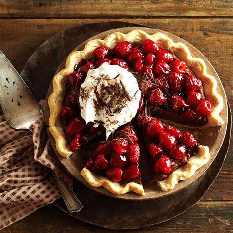 pie raspberry chocolate desserts double mascarpone romantic anniversary bhg recipes recipe bake valentine dessert scrumptious raspberries strawberry pies silk cream