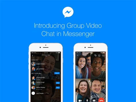 Group Video Chat In Facebook Messenger Rolling Out