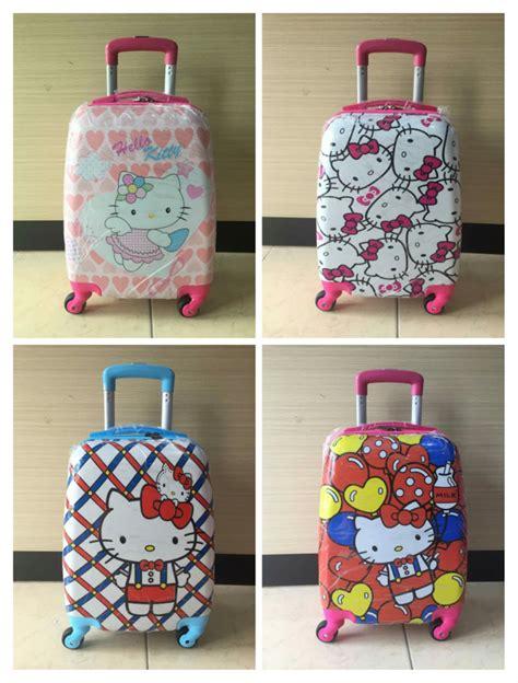 jual tas koper anak sekolah dan troli travel import di lapak garuda batam mall alonghu83