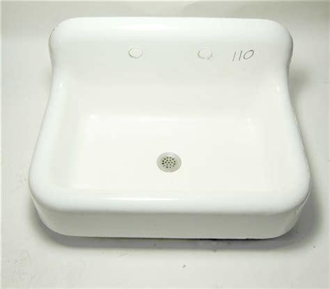 kohler sinks kitchen cast iron kohler vintage cast iron sink with backsplash 8822