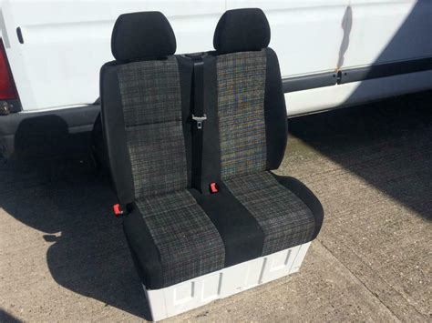 Electrically adjustable driver and passenger seat. Mercedes sprinter double passenger seat and base | in South Shields, Tyne and Wear | Gumtree