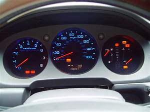 Service Manual  2001 Acura Rl Instrument Cluster Removal