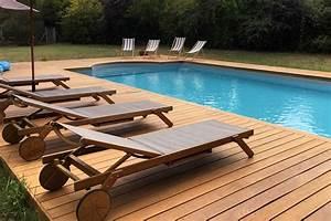 Terrasse Bois Exotique : terrasse bois exotique piscine ~ Melissatoandfro.com Idées de Décoration