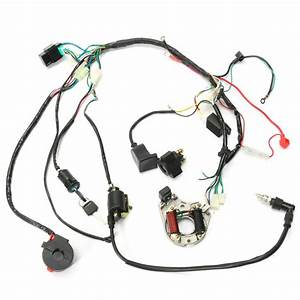 Cdi Wire Harness Assembly Wiring Set Atv Electric Quad