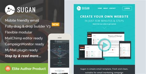 email template builder sugan responsive email template builder access by saputrad themeforest
