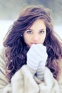 blue, blue eyes, brown, brown hair, girl - image #334148 ...