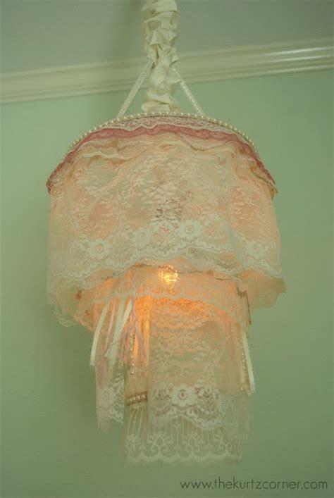 make shabby chic chandelier 25 fantastic diy chandelier ideas and tutorials hative