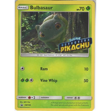 Apr 16, 2021 · my kids and i have really been enjoying making pokemon diys recently and we rather love our diy paper toys too. Collections detective pikachu film new sealed rare sm198 pokemon bulbasaur trading card Cartes à ...