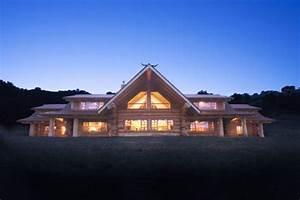 Maison Rondin Bois : une maison en bois de luxe dans la nature ~ Melissatoandfro.com Idées de Décoration