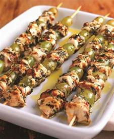 Mediterranean Chicken Skewers Recipe
