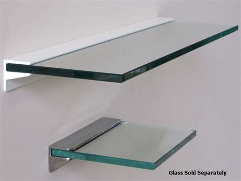 heavy duty shelves toughened glass floating shelf