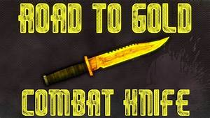 Bo2  Road To Gold -  Combat Knife