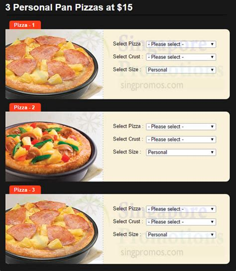 09008 Happy Endings Coupon Code by Pizza Hut 15 3 Personal Pan Pizzas Coupon Code From 9 Mar