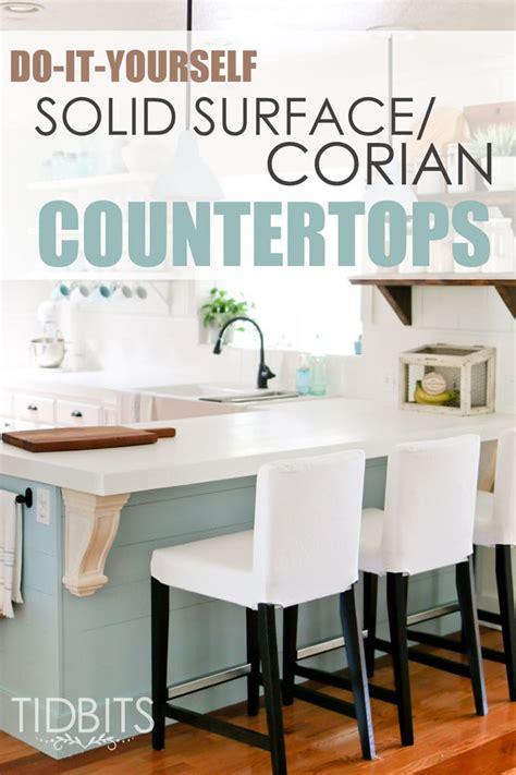 diy corian diy solid surface corian countertops tidbits