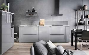 Sind Ikea Küchen Gut : graue k che mit ringhult fronten hochglanz grau und details in grau k che pinterest graue ~ Markanthonyermac.com Haus und Dekorationen