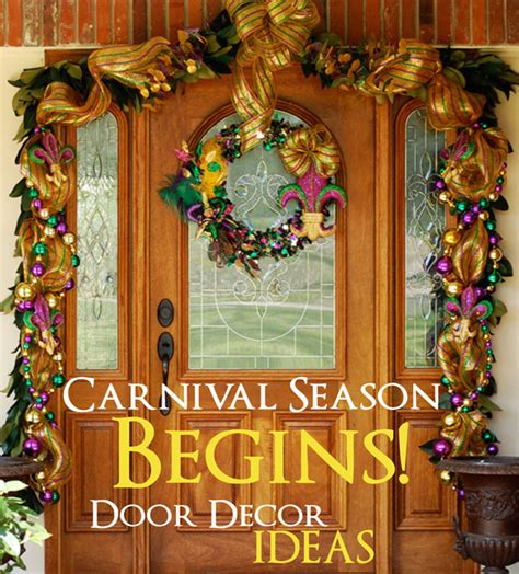 mardi gras wooden door decorations ideas by mardi gras outlet carnival season is here