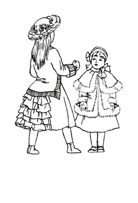How To Draw A Victorian Boy by Fashion Coloring Pages For Girls Coloring Home