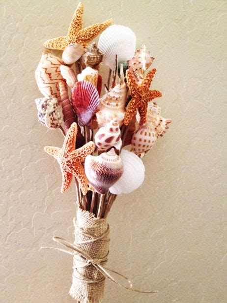 how to make seashell flowers savvy deets bridal diy shell bouquet