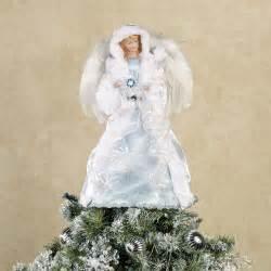 Tabletop Fiber Optic Christmas Tree by Winter Angel Christmas Tree Topper