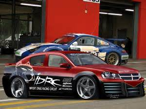 tuning cars and dodge avenger custom