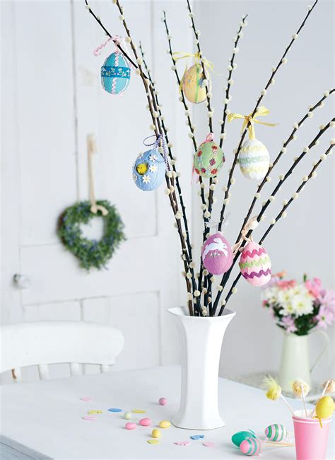 spring easter tree egg decorations  sewing patterns