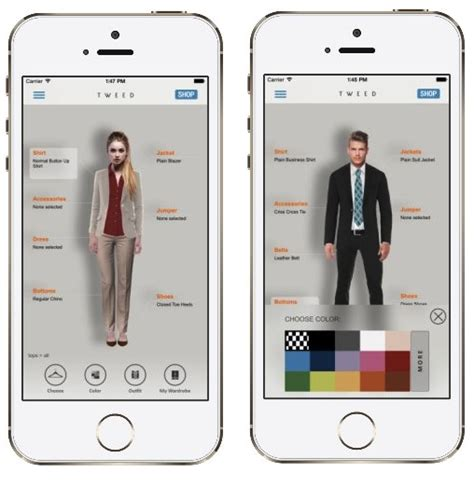 Fashion Closet App by Free Tweed Fashion App To Mix And Match Your Wardrobe