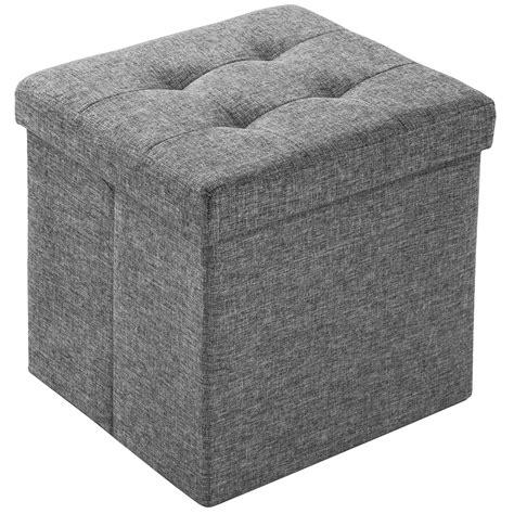 coffre siege tabouret pliant cube pouf dé pliable coffre siège de