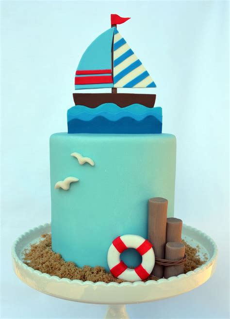 219 Best Images About Nautical Cakes On Pinterest Boat