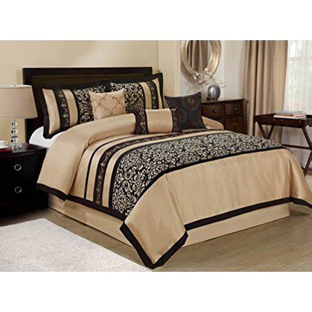 king size comforter sets clearance 7 odesa print embroidery clearance bedding