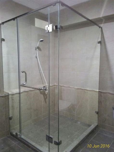 jual shower screen box kamar mandi sekat kaca kamar